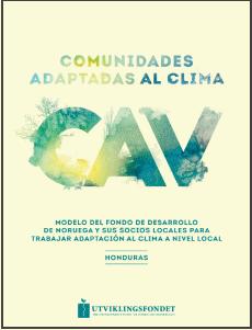 Comunidades Apadtadas al Clima